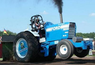 Pulling Fords around the world